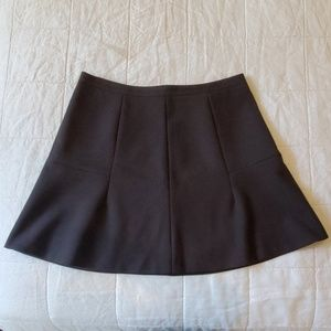 J.Crew fluted mini skirt